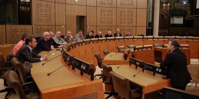 Visite du Conseil Départemental de l'Oise le 21 novembre 2016