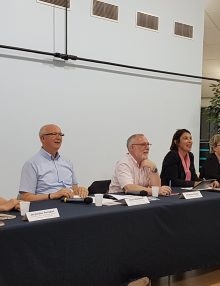 Table ronde avec nos élus